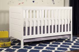 White Convertible Baby Crib Baby Mod Modena 3 In 1 Convertible Crib White Baby