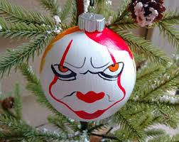 clown ornament etsy