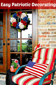 Patriotic Home Decor 7 Easy Ways To Add Americana Decor At Home With Jemma