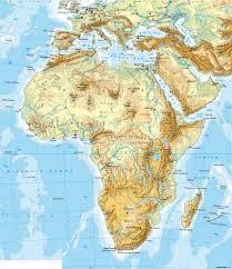 africa map physical maps africa physical map diercke international atlas