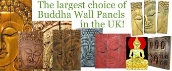 buddha statues and ornaments wooden buddha wall art panels and