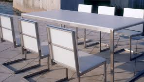 Modern Garden Table And Chairs Patio Furniture For Outdoor Dining And Seating Custom Home Design
