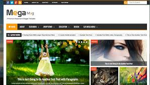 20 best news and magazine blogger templates templatemag