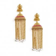 jhumka earrings online indian jhumka dangle earrings online gold silver pearl