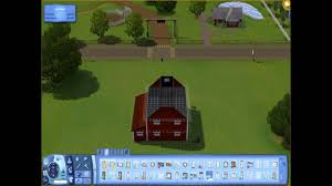 plans to build a barn the sims 3 how to build a barn youtube