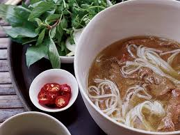 cuisine pho spiced beef pho with sesame chile recipe marcia kiesel food