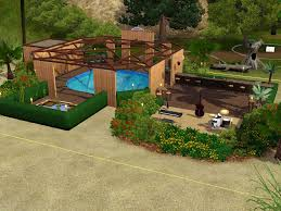 pool houses with bars late night lots community lots for sims 3 at my sim realty