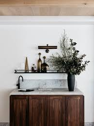 Wet Bar Makeover Room Of The Week A To Die For Marble Kitchen Coco Kelley Coco