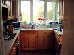 kitchen awesome white marble countertops at u shaped cherry