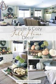 fall home decor ideas 8 autumn home tours grace in my space