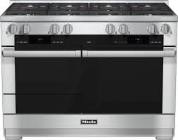 48 Gas Cooktops Miele Hr1954df 48 Inch Pro Style Dual Fuel Range With 8 M Pro Dual