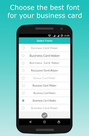 Job Title On Business Card Business Card Maker Android Apps On Google Play