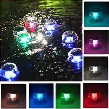 Floating Solar Pond Lights - solar 7 color changing led floating lights ball pond pool outdoor