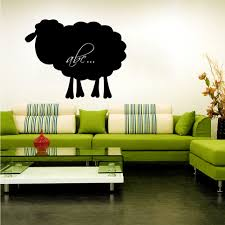 wallstickers folies sheep chalkboard blackboard wall stickers sheep chalkboard blackboard wall stickers