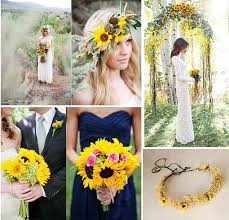 sunflower wedding beautiful wedding flowers inspiration of sunflowers as wedding