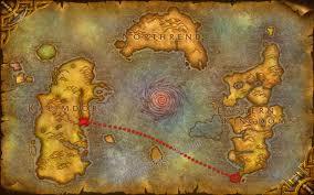kalimdor map the call of kalimdor of warcraft