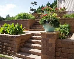wall block and patio pavers delliquadri landscaping
