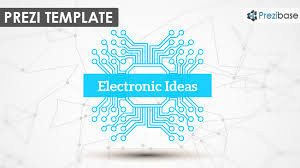 prezi template for presenting your electronic or technology