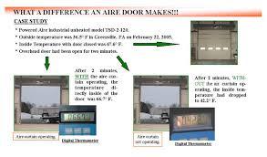 Air Curtains For Overhead Doors Industrial Air Curtains