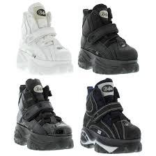 mens biker style boots buffalo boots ebay