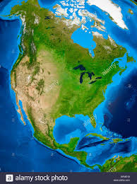 North America Continent Map by Map North America Continent Showing Stock Photos U0026 Map North