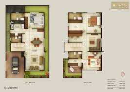 100 south facing duplex house floor plans 3 bedroom house