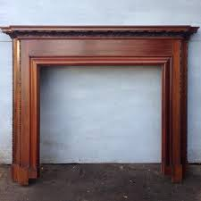 restored carved mahogany fire surround salvoweb com