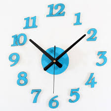 compact retro blue wall clock 127 retro blue wall clock vintage
