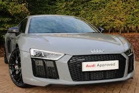 Audi R8 Nardo Grey - used audi r8 cars for sale motors co uk