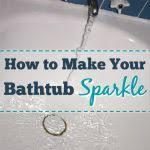 How To Make Bathtub Cleaner Best 25 Clean Bathtub Ideas On Pinterest Bathtub Cleaning Tips