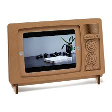 Tv Stand Cardboard Ipad Tv Stand Recycled Ipad Stand Uncommongoods