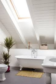 Small Attic Bathroom Sloped Ceiling by A Chic But Simple Attic Apartment With Sloped Ceilings Attic