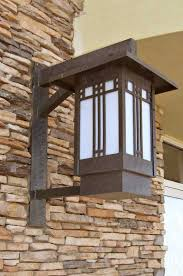 mission style outdoor wall light craftsman style exterior lighting stephanegalland com
