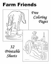 free farm animal coloring pages barns and farms coloring pages farm animals farms country
