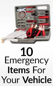 10 Must Haves For Your by The Most Important Items To Keep In Your Car 10 Must Haves In