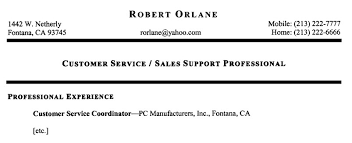 Example Of Resume Title by How To Make An Effective Resume Title Examples And Tips