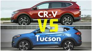 lexus rx vs honda crv 2017 honda cr v vs hyundai tucson youtube