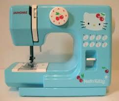kitty janome sewing machine kt 35 sanrio japan manual