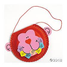 Paper Plate Monkey Craft - paper plate monkey card holder craft kit