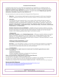 resume for college application objectives 14 graduate resume objective invoice template download