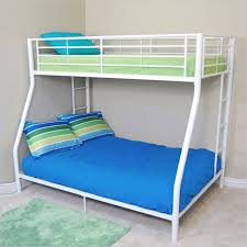 White Metal Bunk Bed Walker Edison Metal Bunk Bed In Black