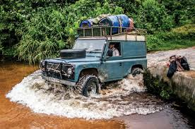 land rover jungle land rover defender versus the congo autocar
