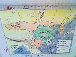 Ancient China Map Ancient China Mrs Burnside U0027s 6th Grade World History