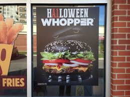 halloween whopper burger king chicana on the edge the halloween whopper