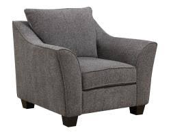 Gray Accent Chair Calvina Grey Accent Chair Furniture And Interior Design