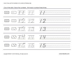 34 best homeschooling number tracing images on pinterest number