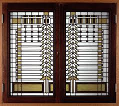 accessories terrific colorful mosaic stained glass window magnificent ideas for home makeover with anderson art glass windows classy brown cherry wood frame