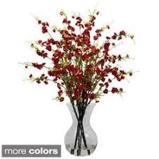 Plant Vase Artificial Plants For Less Overstock Com