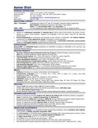 Resume Format For Electronics Engineering Student How To List Courses On Resume Professional Thesis Editing Service