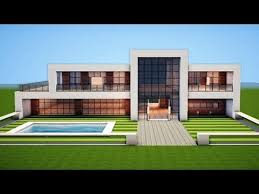 how to build a small modern house minecraft how to build a modern house easy tutorial https i